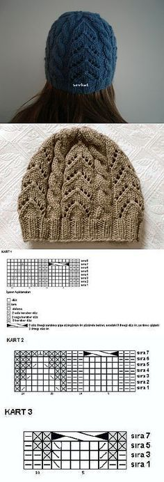 Ideas For Knitting Beanie Pattern Cable Crochet Baby Poncho, Crochet Beanie, Crochet Shawl, Knitted Hats, Knit Crochet, Baby Hat Patterns, Knitting Patterns, Crochet Patterns, Knitting Stitches