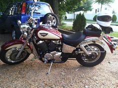 My new ride!! 1998 Honda Shadow ACE 750.