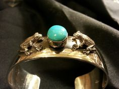 Hey, I found this really awesome Etsy listing at https://www.etsy.com/listing/206186898/sleeping-beauty-turquoise-opposing-frog
