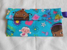 Blue Doc McStuffins Reusable Snack Bag by AnnesUniqueBoutique