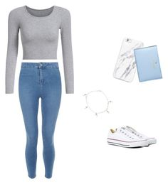 """Untitled #50"" by bushra008 on Polyvore featuring New Look, Converse and Kate Spade"