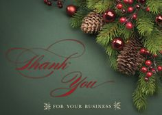 28 best holiday cards customer appreciation images on pinterest business thank you colourmoves