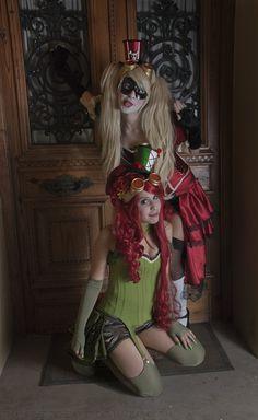 Harley Quinn Steampunk Burlesque costume cosplay