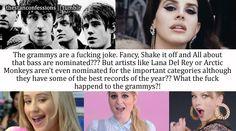 Lana Del Rey #LDR #Grammys #fan_confession