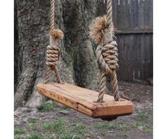 Reclaimed Wood Tree Swing