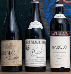The V.I.P. Table: There's No Instant Gratification in Barolo...