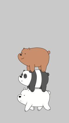 Cartoon Wallpaper Iphone, Mickey Mouse Wallpaper, Bear Wallpaper, Kawaii Wallpaper, Cute Wallpaper Backgrounds, Aesthetic Iphone Wallpaper, Disney Wallpaper, We Bare Bears Wallpapers, Panda Wallpapers