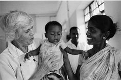"""You can serve at ANY age...so apply already! If not now, when? """"Lillian Carter, Peace Corps Volunteer and mother of President Jimmy Carter, works as a nurse in a hospital in India. 1968"""""""