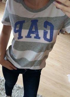 Kup mój przedmiot na #vintedpl http://www.vinted.pl/damska-odziez/koszulki-z-krotkim-rekawem-t-shirty/16880248-gap-koszulka-36-s