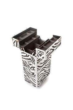 The Urbanity Classic Zebra Animal Print Beauty Trolley is perfect for professional mobile beauticians, nail technicians and hairdressers.  It's stylish, versatile, and is the ideal beauty storage solution for those on the move!