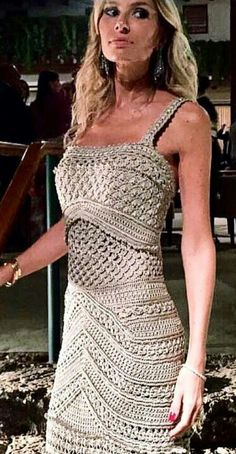 Vanessa Montoro, Crochet Crop Top, Crochet Cardigan, Knit Dress, Knit Crochet, Crochet Wedding Dresses, Crochet Bodycon Dresses, Knitwear Fashion, Diy Clothing