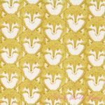 Sarah Watts Timber & Leaf Fox Portrait Gold [BF-110-103-07-1] - $10.45 : Pink Chalk Fabrics is your online source for modern quilting cottons and sewing patterns., Cloth, Pattern + Tool for Modern Sewists