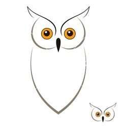 Owl vector art illustration - Tattoo Thinks Owl Outline, Outline Drawings, Easy Drawings, Tattoo Outline, Owl Vector, Vector Art, Simple Owl Tattoo, Simple Owl Drawing, Owl Tattoo Small
