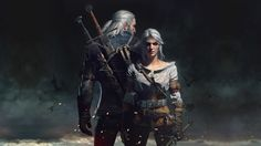 Download Geralt of Rivia and Ciri Wallpaper HD the Witcher 3 1920x1080