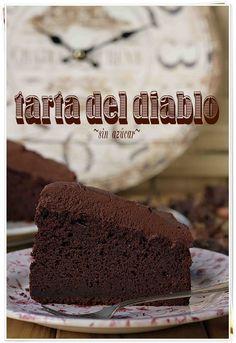 Tarta del diablo | El blog sin azúcar