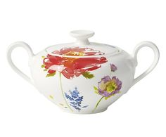 Zuccheriera in porcellana Anmut Flowers - 0.35 l