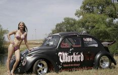 Mostly Black Volkswagen Beetles: Photo You are in the right place about japanese Racing Girl Here we Trucks And Girls, Car Girls, Vw Cars, Race Cars, Up Auto, Kdf Wagen, Bus Girl, Vw Vintage, Vw Beetles