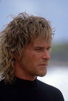 "Patrick Swayze as Bodhi in ""Point Break"", 1991 Lisa Niemi, Point Break 1991, Houston, Cute Actors, Dirty Dancing, People Magazine, Keanu Reeves, Famous Faces, Star Wars"