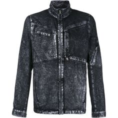 Stone Island Shadow Project denim jacket (€990) ❤ liked on Polyvore featuring men's fashion, men's clothing, men's outerwear, men's jackets, blue, mens blue jean jackets and mens blue jacket
