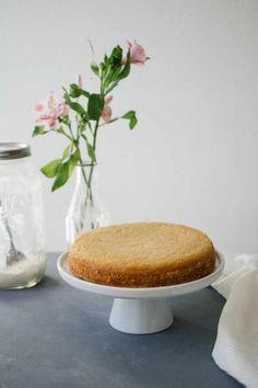 Vegan sponge cake: so fluffy & easy! Delicious Vegan Recipes, Yummy Food, Vegan Biscuits, Vegan Baby, Vegan Cupcakes, Summer Cakes, Vegan Treats, Vegan Food, Favorite Recipes