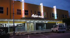 Azio Hotel Langkawi The two-storey Azio Hotel is located in Langkawi, a 5-minute drive from Langkawi Jetty. The hotel offers a duty-free shop, free parking and rooms with flat-screen satellite TVs.