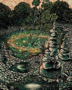 everything happens in it's right time, don't go pushing spirit stones. James R. Eads