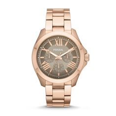 Fossil Cecile Multifunction Stainless Steel Watch - Rose| FOSSIL® Watches
