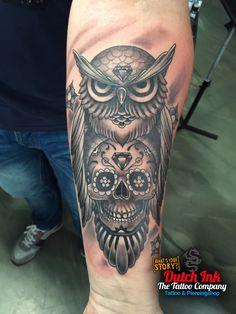 Skull tattoo voorbeelden, laat je inspireren door Dutch Ink!