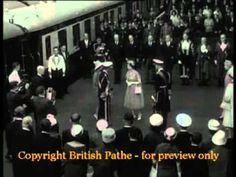 King Bhumibol Arrives in London 1960