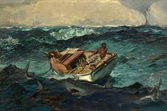 Homer The Great, Art Conceptual, Winslow Homer Paintings, Oil On Canvas, Canvas Prints, Canvas Paintings, Thing 1, Metropolitan Museum, Art Google