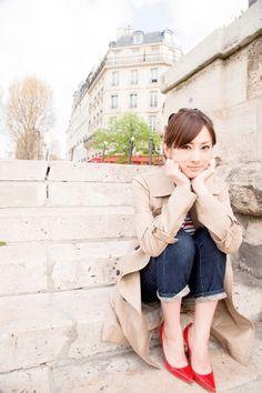 Keiko Kitagawa in Paris Cute Japanese, Japanese Beauty, Japanese Girl, Hyogo, Sailor Moon, Keiko Kitagawa, Tokyo, Japanese Models, Kawaii Girl