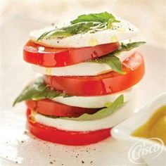 Caprese #Salad from Crisco® #Summer #Recipes
