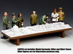LAH193 $99.00. Inspecting Germania Of prime importance in Hitler s dreams was his wish to build not only a new capital for Germany. He ... - Type: Action Scene - Period: World War II - Scale: 1/30 Scale - Hobby Bunker