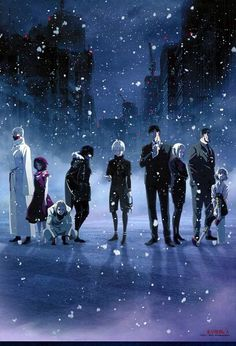 Tokyo Ghoul, i love this show.