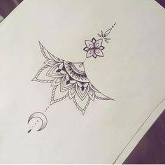 tattoo no meio peito - Tattoos - Tatouage Ewigkeits Tattoo, Women Sternum Tattoo, Sternum Tattoo Design, Mandala Sternum Tattoo, Tattoo Designs, Underboob Tattoo, Tattoo Women, Small Chest Tattoos, Chest Tattoos For Women