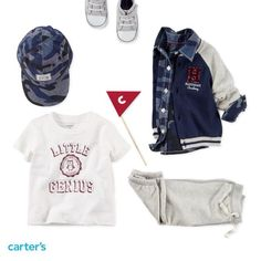 Fresh looks for your little style genius! Carter's baby