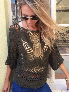 The Wild Miss Crochet Top