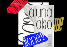 "jozefondrik: ""Oval typeface test composition """
