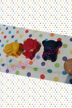 Chunky Animal crayons: pack of three animals, £1.50 + postage https://www.facebook.com/carolynscreations88/photos/a.689943791091277.1073741829.621686804583643/714965971922392/?type=3&theater