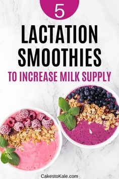 Easy lactation smoothie recipes to increase milk supply. Smoothies that will help breastfeeding moms get more milk. Best Smoothie Recipes, Good Smoothies, Breastfeeding Foods, Breastfeeding Smoothie, Lactation Smoothie, Blackberry Smoothie, Increase Milk Supply, Best Food Ever, The Fresh