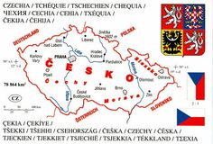 Czechia - the name of the country Short Names, My Heritage, Free Images, Messages, Photo And Video, Books, Articles, Country, Videos