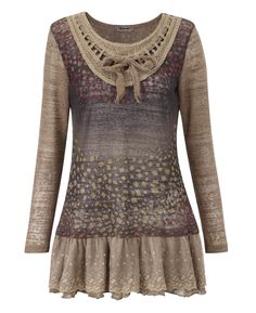 """Joe Browns"" Joe Browns Marvellous Mosaic Tunic at Simply Be"