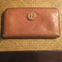 Tory Burch Wallet Authentic. Used, with normal signs of wear. Tory Burch Bags Wallets
