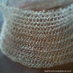 wire crochet  jewelry | Crocheted Wire Necklace/Cuff Inspired by Arline Fisch » Art Craft ...