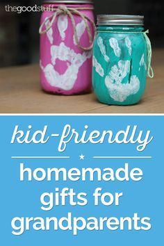 Grandparent christmas gifts homemade