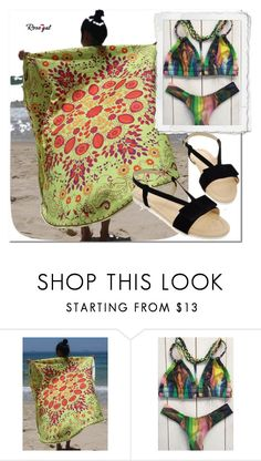 """""""Be in trend... with Rosegal! 44"""" by s-o-polyvore ❤ liked on Polyvore featuring vintage, bikini and rosegal"""