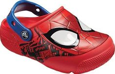 4eed74c41d1d9b Crocs Fun Lab Spiderman Lights Clog Juniors