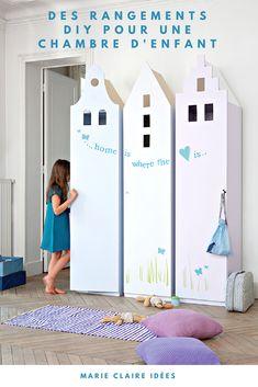 DIY déco pour une chambre d'enfant : customiser des armoires IKEA pour créer des meubles uniques - Marie Claire Idées