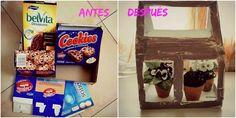 By Terenya, Con mis Ojos y mis Manos: DIY con cajas de cartón