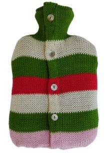 Hot Water Bottle Coversfrom Toto Knits - We keep you warm with love!
